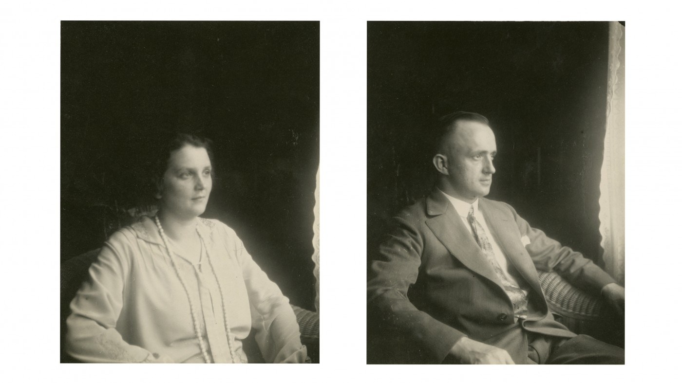 photo left by man - photo right by woman